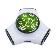 Queen Anne s Lace 3 Port USB Hub