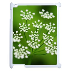 Queen Anne s Lace Apple iPad 2 Case (White)