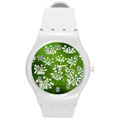Queen Anne s Lace Plastic Sport Watch (Medium)
