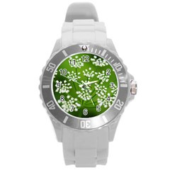 Queen Anne s Lace Plastic Sport Watch (large)