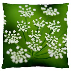 Queen Anne s Lace Large Cushion Case (two Sided)