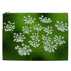 Queen Anne s Lace Cosmetic Bag (XXL)