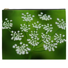 Queen Anne s Lace Cosmetic Bag (XXXL)