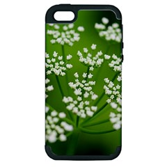 Queen Anne s Lace Apple Iphone 5 Hardshell Case (pc+silicone)