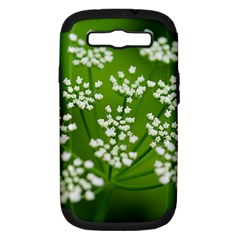 Queen Anne s Lace Samsung Galaxy S III Hardshell Case (PC+Silicone)
