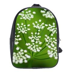 Queen Anne s Lace School Bag (XL)