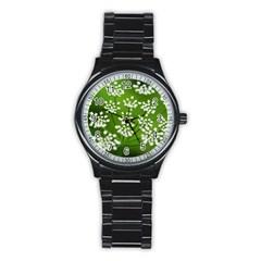 Queen Anne s Lace Sport Metal Watch (black)
