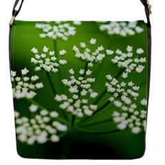 Queen Anne s Lace Flap Closure Messenger Bag (small)