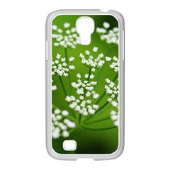 Queen Anne s Lace Samsung Galaxy S4 I9500/ I9505 Case (white)
