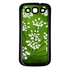 Queen Anne s Lace Samsung Galaxy S3 Back Case (Black)