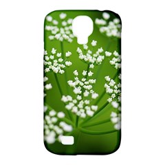 Queen Anne s Lace Samsung Galaxy S4 Classic Hardshell Case (PC+Silicone)