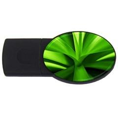 Yucca Palm  1GB USB Flash Drive (Oval)