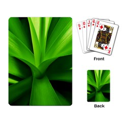 Yucca Palm  Playing Cards Single Design