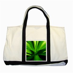 Yucca Palm  Two Toned Tote Bag