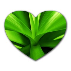 Yucca Palm  Mouse Pad (Heart)