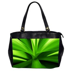Yucca Palm  Oversize Office Handbag (Two Sides)