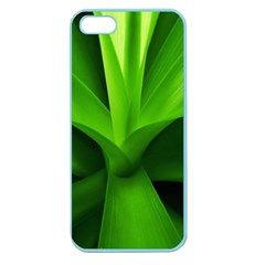Yucca Palm  Apple Seamless Iphone 5 Case (color)