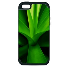 Yucca Palm  Apple iPhone 5 Hardshell Case (PC+Silicone)