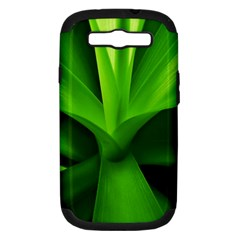 Yucca Palm  Samsung Galaxy S III Hardshell Case (PC+Silicone)