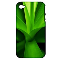 Yucca Palm  Apple iPhone 4/4S Hardshell Case (PC+Silicone)