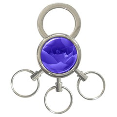 Rose 3-Ring Key Chain