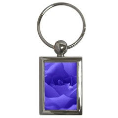 Rose Key Chain (Rectangle)