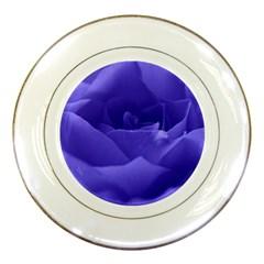 Rose Porcelain Display Plate