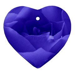 Rose Heart Ornament (two Sides)
