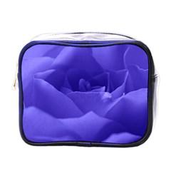 Rose Mini Travel Toiletry Bag (one Side)