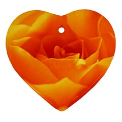 Rose Heart Ornament