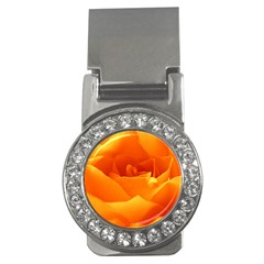 Rose Money Clip (CZ)