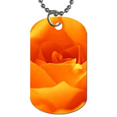 Rose Dog Tag (Two-sided)