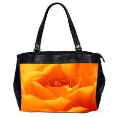 Rose Oversize Office Handbag (Two Sides)