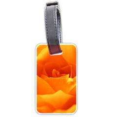 Rose Luggage Tag (two Sides)