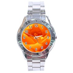 Rose Stainless Steel Watch (men s)