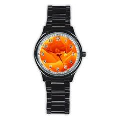 Rose Sport Metal Watch (Black)