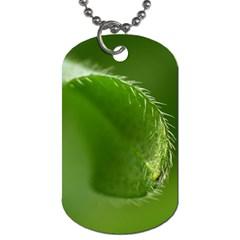 Leaf Dog Tag (One Sided)