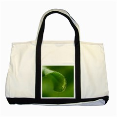 Leaf Two Toned Tote Bag