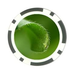 Leaf Poker Chip