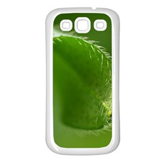 Leaf Samsung Galaxy S3 Back Case (white)