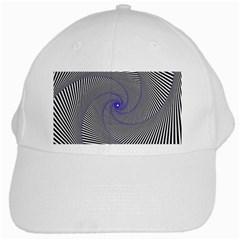 Hypnotisiert White Baseball Cap