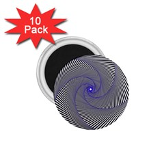 Hypnotisiert 1 75  Button Magnet (10 Pack)