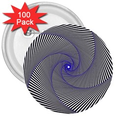 Hypnotisiert 3  Button (100 pack)