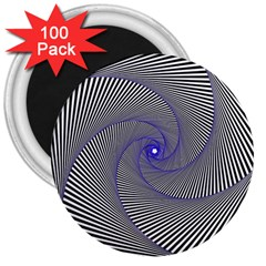 Hypnotisiert 3  Button Magnet (100 Pack)