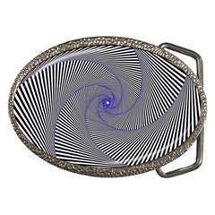 Hypnotisiert Belt Buckle (oval)