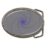 Hypnotisiert Belt Buckle (Oval) Front