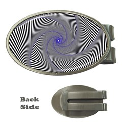 Hypnotisiert Money Clip (Oval)