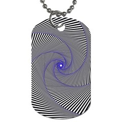 Hypnotisiert Dog Tag (two Sided)