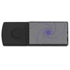Hypnotisiert 1GB USB Flash Drive (Rectangle)