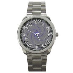 Hypnotisiert Sport Metal Watch